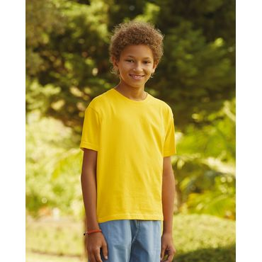 Camiseta niño 61-015-0 KIDS SOFSPUN® T FRUIT OF THE LOOM