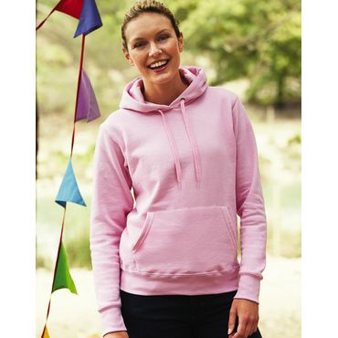 Sudadera con capucha mujer 62-038-0 LADY-FIT FRUIT OF THE LOOM