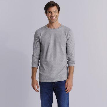Camiseta de manga larga hombre 64400 GILDAN