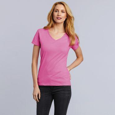 Camiseta cuello de pico mujer 4100VL PREMIUM GILDAN