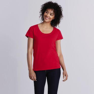 Camiseta básica mujer 64550L SOFTSTYLE® GILDAN