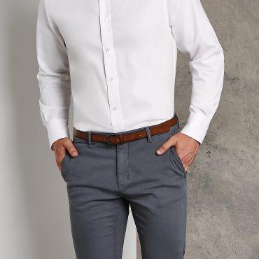 Camisa Oxford de manga larga hombre KK188 OXFORD KUSTOM KIT