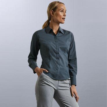 Blusa de manga larga mujer R-924F-0 RUSSELL COLLECTION