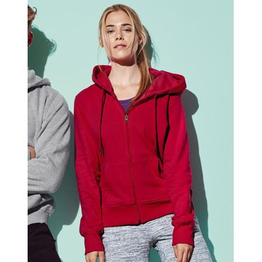 Sudadera con capucha y cremallera mujer ST5710 ACTIVE Active by Stedman