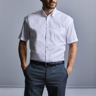 Camisa de manga corta con bolsillo hombre R-957M-0 RUSSELL COLLECTION