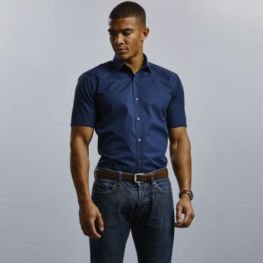 Camisa de manga corta hombre R-961M-0 RUSSELL COLLECTION