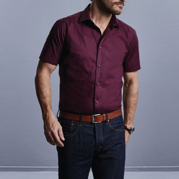 Camisa de manga corta hombre R-947M-0 RUSSELL COLLECTION