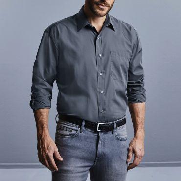 Camisa de manga larga con bolsillo hombre R-934M-0 RUSSELL COLLECTION