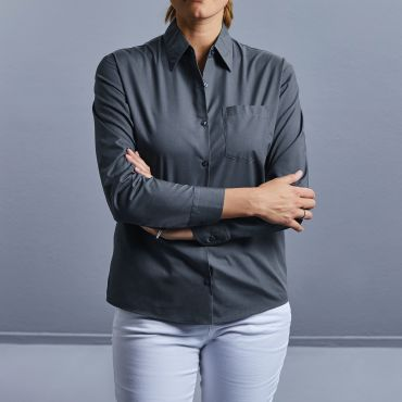 Blusa de manga larga mujer R-934F-0 RUSSELL COLLECTION