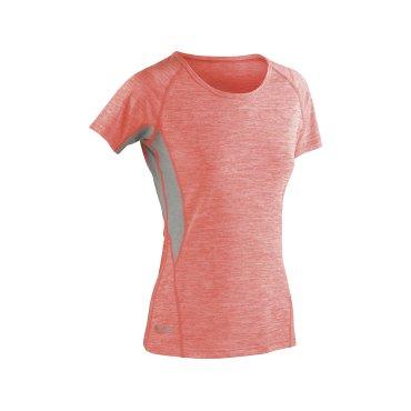 Camiseta técnica jaspeada mujer S270F TECH FITNESS SPIRO