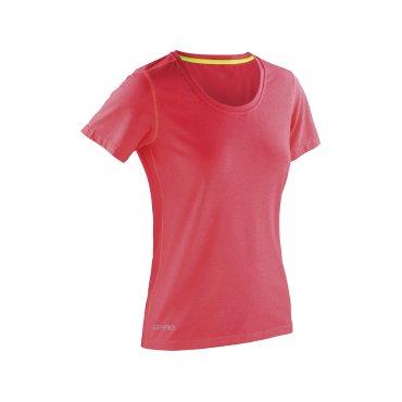 Camiseta técnica muy ligera mujer S271F SHINY FITNESS SPIRO