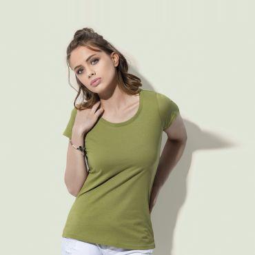Camiseta orgánica mujer ST9300 JANET STEDMAN