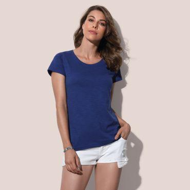 Camiseta básica mujer ST9500 SHARON STEDMAN