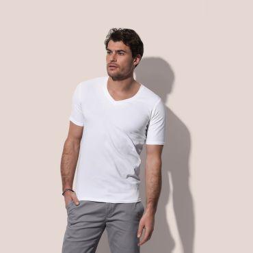 Camiseta cuello pico hombre ST9690 DEAN DEEP STEDMAN