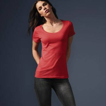 Camiseta básica mujer 391 ANVIL