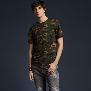 Camiseta de camuflaje hombre 939 CAMO ANVIL