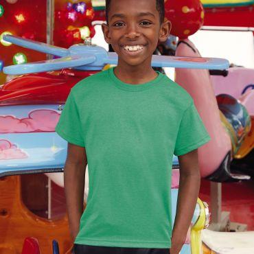 Camiseta básica niño 61-033-0 VALUEWEIGHT FRUIT OF THE LOOM