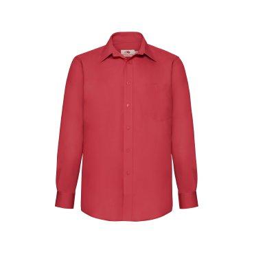 Camisa de manga larga con bolsillo hombre 65-118-0 FRUIT OF THE LOOM