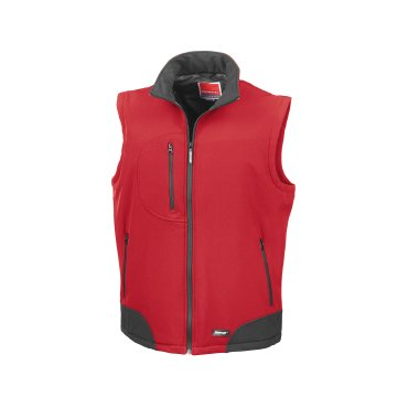 Chaleco softshell hombre R123X BASIC RESULT