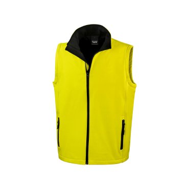 Chaleco softshell hombre R232M PRINTABLE RESULT CORE