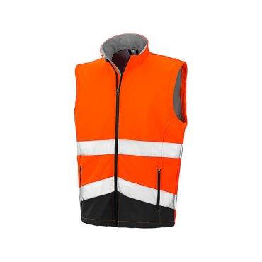 Chaleco softshell de alta visibilidad hombre R451X RESULT SAFE GUARD
