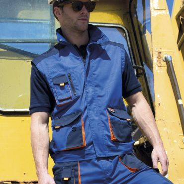 Chaleco de trabajo ligero hombre R317X RESULT WORK GUARD