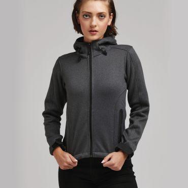 Chaqueta polar con capucha mujer SG45F