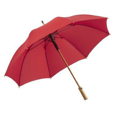 Paraguas empuñadura bambú OKOBELLA FARE