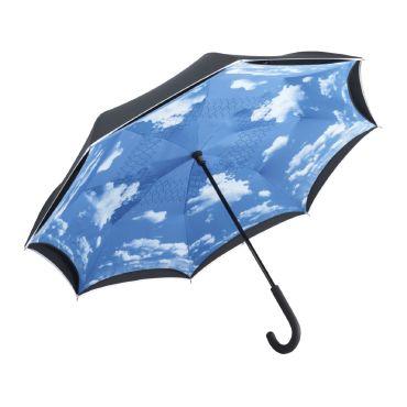 Paraguas empuñadura curva CONTRARY FARE