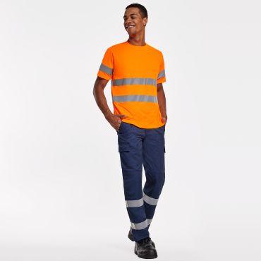 Camiseta de alta visibilidad hombre DELTA ROLY