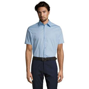 Camisa de manga corta Easycare hombre BROADWAY SOL'S