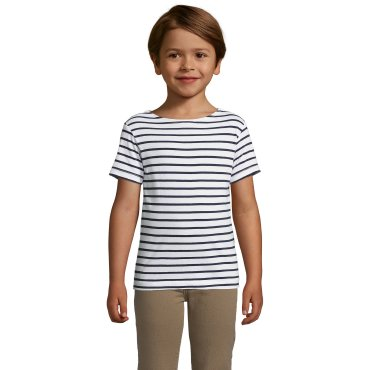 Camiseta de rayas niño MILES KIDS SOL'S