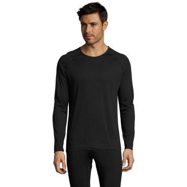 Camiseta técnica de manga larga hombre SPORTY LSL MEN SOL'S