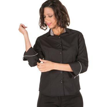 Camisa manga larga mujer PAOLA UNIFORMES GARY'S
