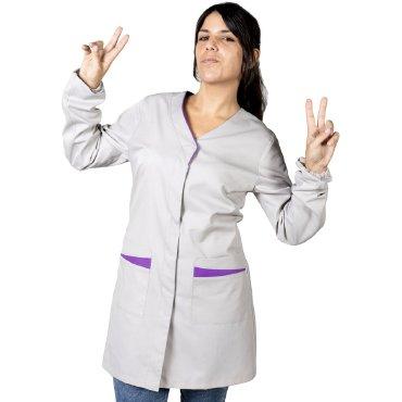 Bata sanitaria antibacteriana mujer MARISA UNIFORMES GARY'S