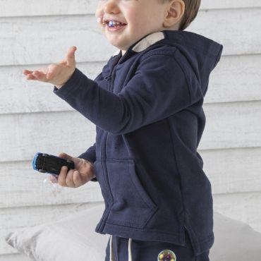 Sudadera con capucha bebe BENJAMIN BZ32 BABYBUGZ