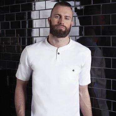 Camisa de chef de manga corta hombre TM 5 KARLOWSKY