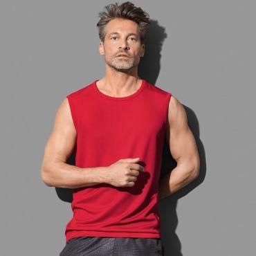 Camiseta deportiva sin mangas hombre ST8440 ACTIVE 140 STEDMAN