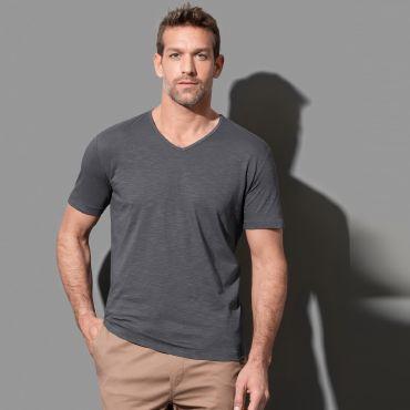 Camiseta cuello pico hombre ST9410 SHAWN STEDMAN