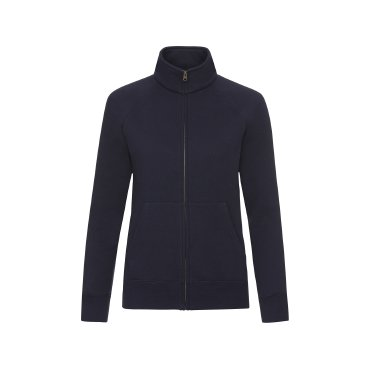 Sudadera con cremallera mujer 62-116-0 LADY-FIT FRUIT OF THE LOOM
