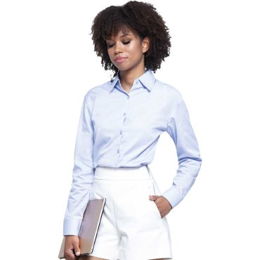 Camisa oxford manga larga mujer CASUAL & BUSINESS JHK T-SHIRT