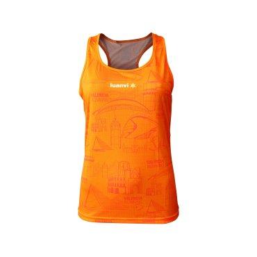Camiseta técnica sin mangas mujer ICONOS LUANVI