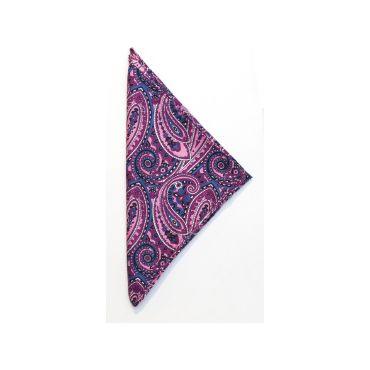 Pañuelo para traje de seda HANDKERCHIEF PAISLEY HARVEST & FROST