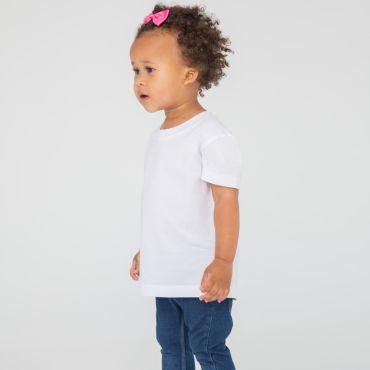 Camiseta algodón orgánico bebes LW620 Larkwood