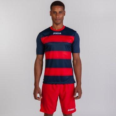 Camiseta de fútbol a rayas hombre-niño EUROPA III JOMA SPORT