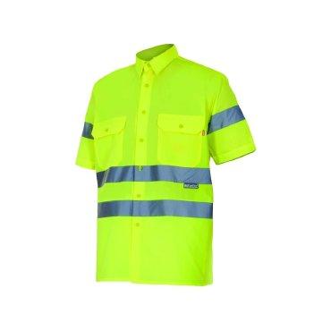 Camisa alta visibilidad manga corta unisex 141 Velilla