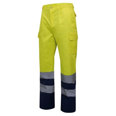 Pantalón de trabajo alta visibilidad unisex 303001 Velilla