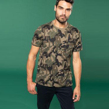 Camiseta camuflaje hombre K3030 Kariban