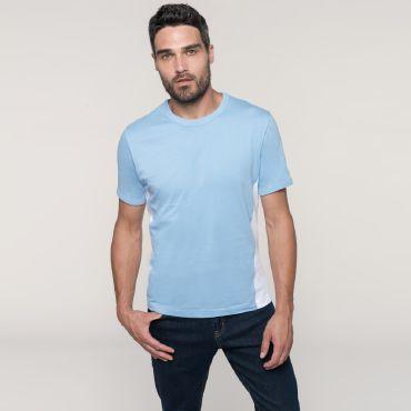 Camiseta bi-color hombre K340 Kariban