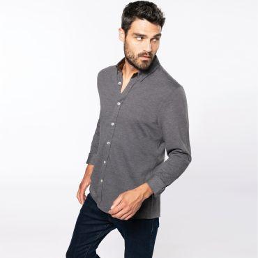Camisa manga larga hombre K507 Kariban